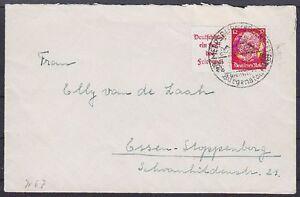 DR-ZD-W-67-EF-auf-Brief-mit-SST-Meersburg-Burgenstadt-Essen-1937
