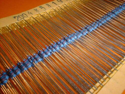 100x 20 K 1/% film metallo forma con resistenza 0204
