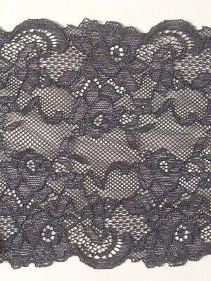 "laverslace Pretty Olive Green Wide Stretch Lace Trim 6/""//15cm Sewing Lingerie"