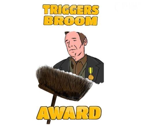 Decal Classic Beatle /'Triggers Broom/' Car Window//Bumper Sticker