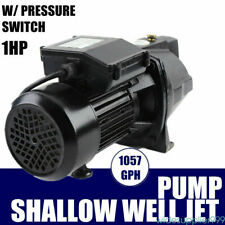 1 Hp Jet Water Pump To Supply Fresh Well Water To Residential Homes Farms Cabins