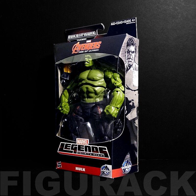 Marvel Legends Avengers Age of Ultron Hulk Hulk Hulk 6  Action Figure (Thanos BAF) 2f69cf