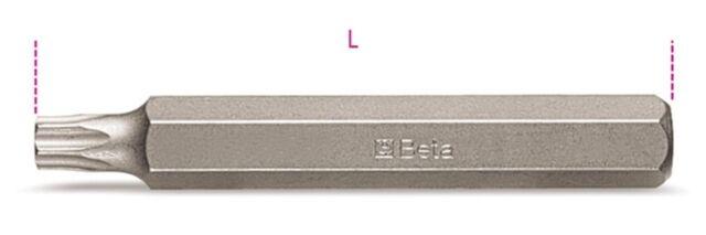 Beta Tools 867 Tx / L 5x 10mm Hex-Laufwerk Torx Bit T40 X 75 mm 008670465