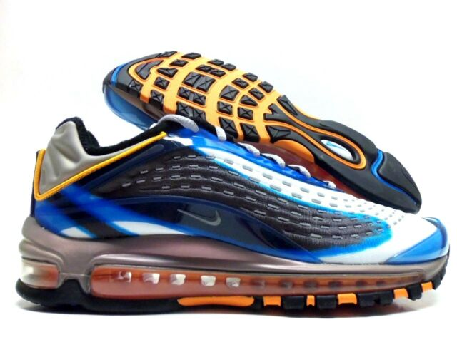 Nike Air Max Deluxe Running Shoes Photo Blue Wolf Grey Mens Size 10.5