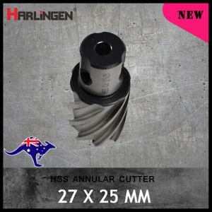 Rotabroach Magnetic Drill, 16 x 25mm HSS Annular Broach Cutter Universal Shank
