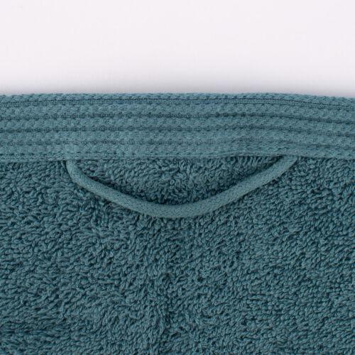 Serviette éponge 100/% coton Ozeanblau