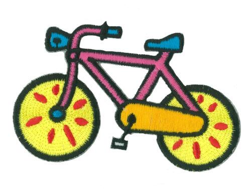 Patch écusson patche VÉLO bicyclette thermocollant brodé