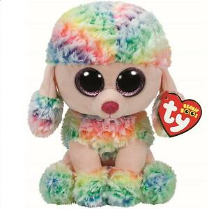 98d1a11350c Image is loading Ty-Beanie-Babies-37145-Boos-Rainbow-the-Poodle-