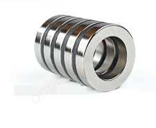 Large 10 X 062 X 02 Inch Super Strong Ring Magnets Rare Earth Neodymium