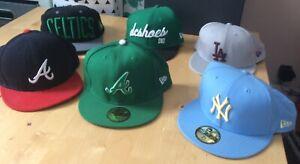 NEW-Era-Cappello-Adidas-Bundle-Snapback-Celtics-7-5-DC-Shoes-taglia-unica-la