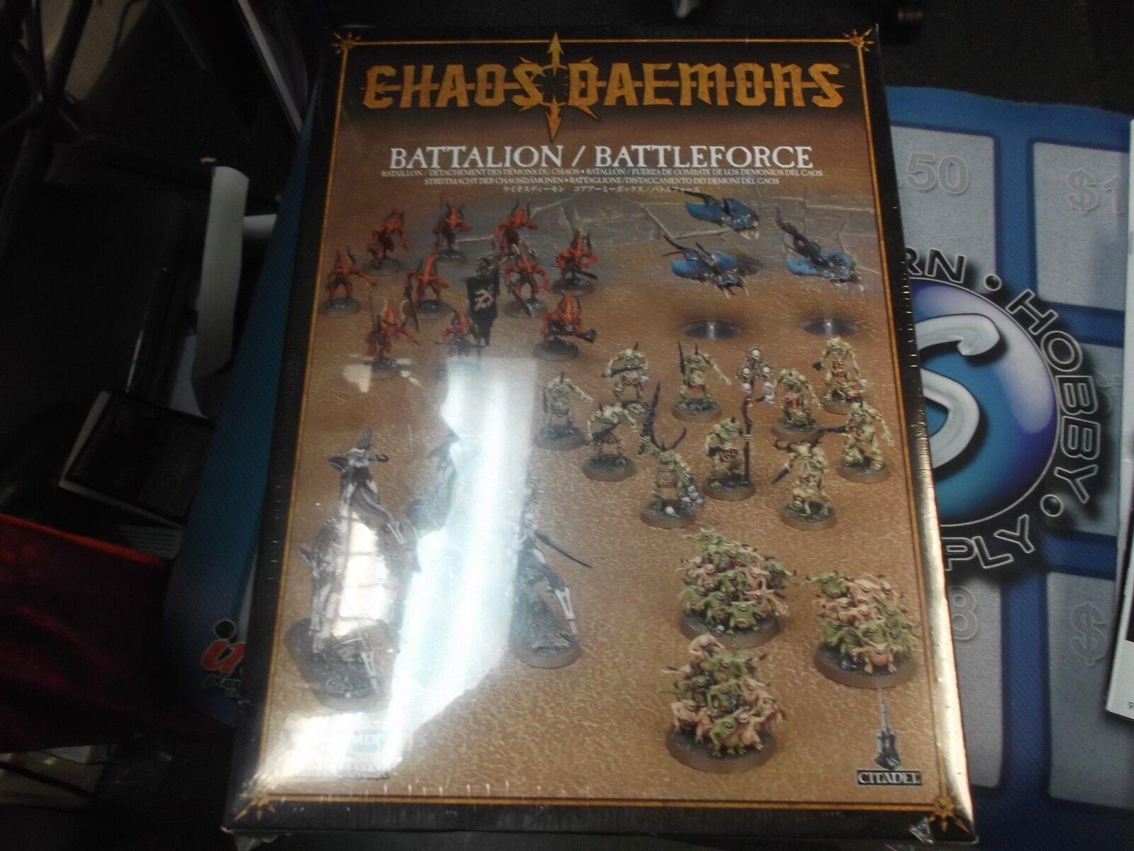 Bataljon Chaos Daemon slåsspoce  bataljon 2012 Warhammer 40k spelverkstad NY SEALD