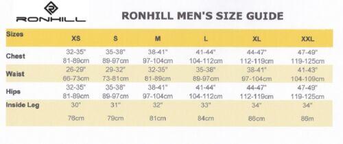 RONHILL Men/'s INFINITY MARATHON Twin Skin Sports Running SHORTS Blue LP£50