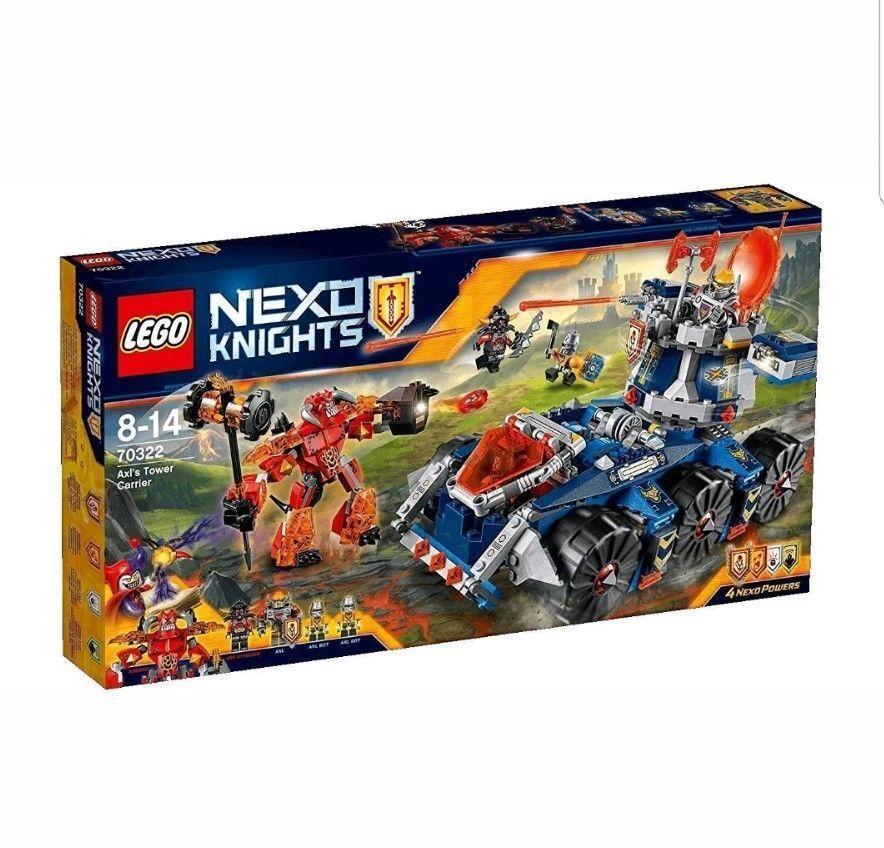 Lego nexo Caballeros ™ 70322 AXLS Mobiler tormenta de defensa