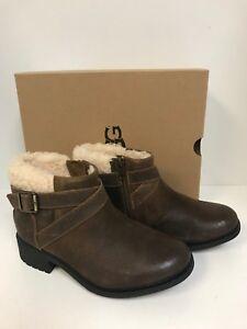 f7d20a6d18d UGG Women's Benson Chipmunk Leather Waterproof Boot Size 6.5M | eBay
