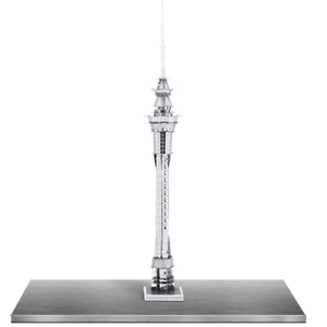 Metal Earth Auckland Sky Tower 3D Metal  Model Tweezer  010299