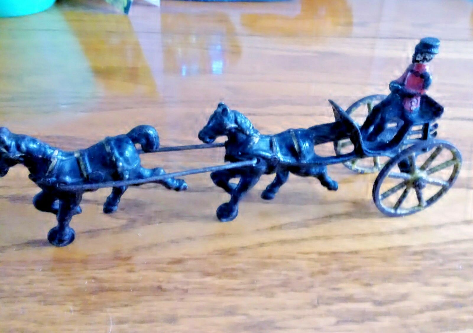 Kenton Two Horse Doctors Sulky Carriage 1890-1920 Rare