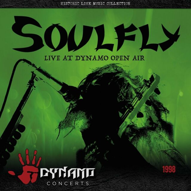 SOULFLY - LIVE AT DYNAMO OPEN AIR 1998  CD +++++++++ NEW!