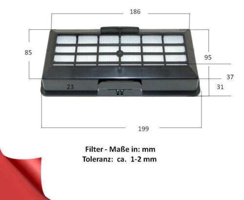 HEPA Filtro Adatto Bosch BSG 71842//04//14 formula HEPA 1-3-5