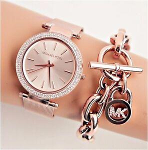 89853d11a297 Michael Kors Watch Women s Watch Mk3369 Darci Meshband Colour  Rose ...