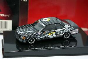 Auto-Art-1-43-Mercedes-500-SEC-AMG-SPA-1989