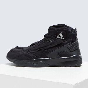 acheter populaire 3580f cfa13 Details about COMME des Garcons x Nike Air Mowabb ACG CDG Suede Sneakers  Black AV4438-001