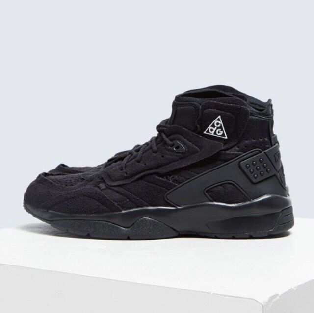 uk availability bba43 a4319 COMME des Garcons x Nike Air Mowabb ACG CDG Suede Sneakers Black AV4438-001