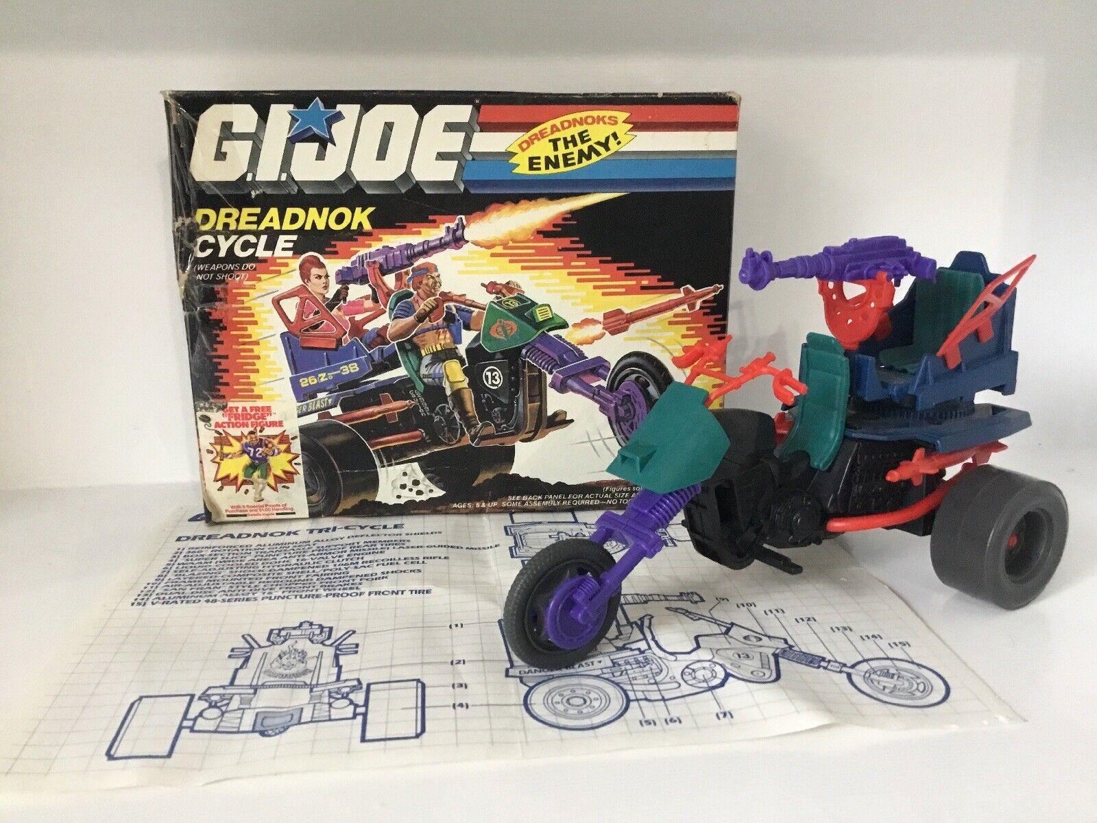 1987  Gi Joe Joe Joe dreadnok 100% bicicletas todo el maletín de la moto BP 3 018