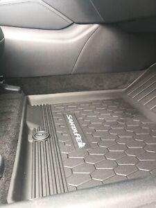 2019 2020 New Oem Genuine Hyundai Santa Fe All Weather Floor