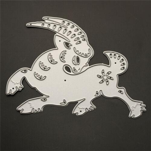 Tiere Cutting Dies Stencil DIY Scrapbooking Album Tagebuch Stanzschablone wwgf