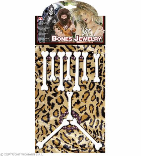 BONE JEWELLERY SET FANCY DRESS