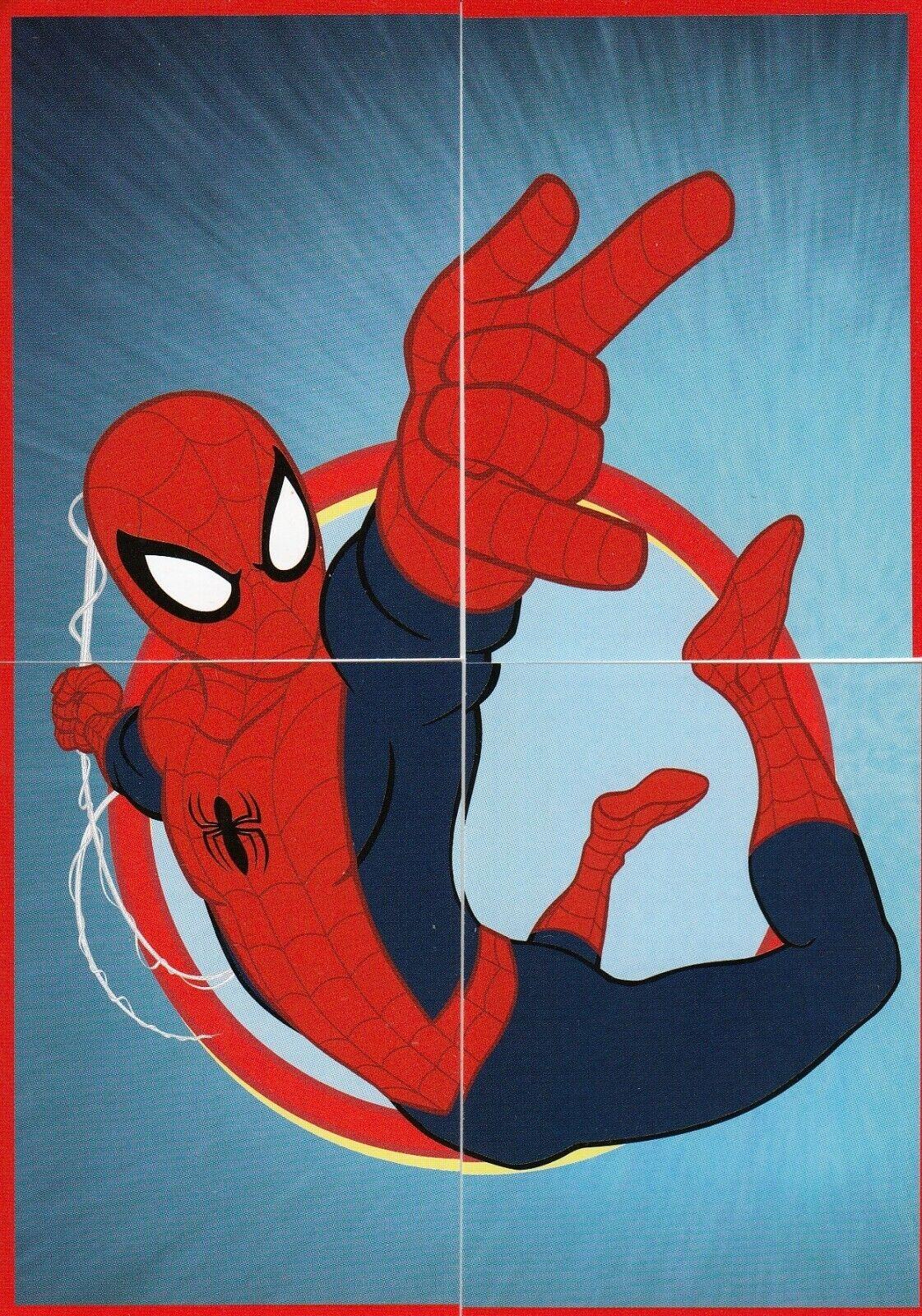 PANINI MARVEL ULTIMATE SPIDER-MAN  COMPLETE 192 STICKER SET /& ALBUM