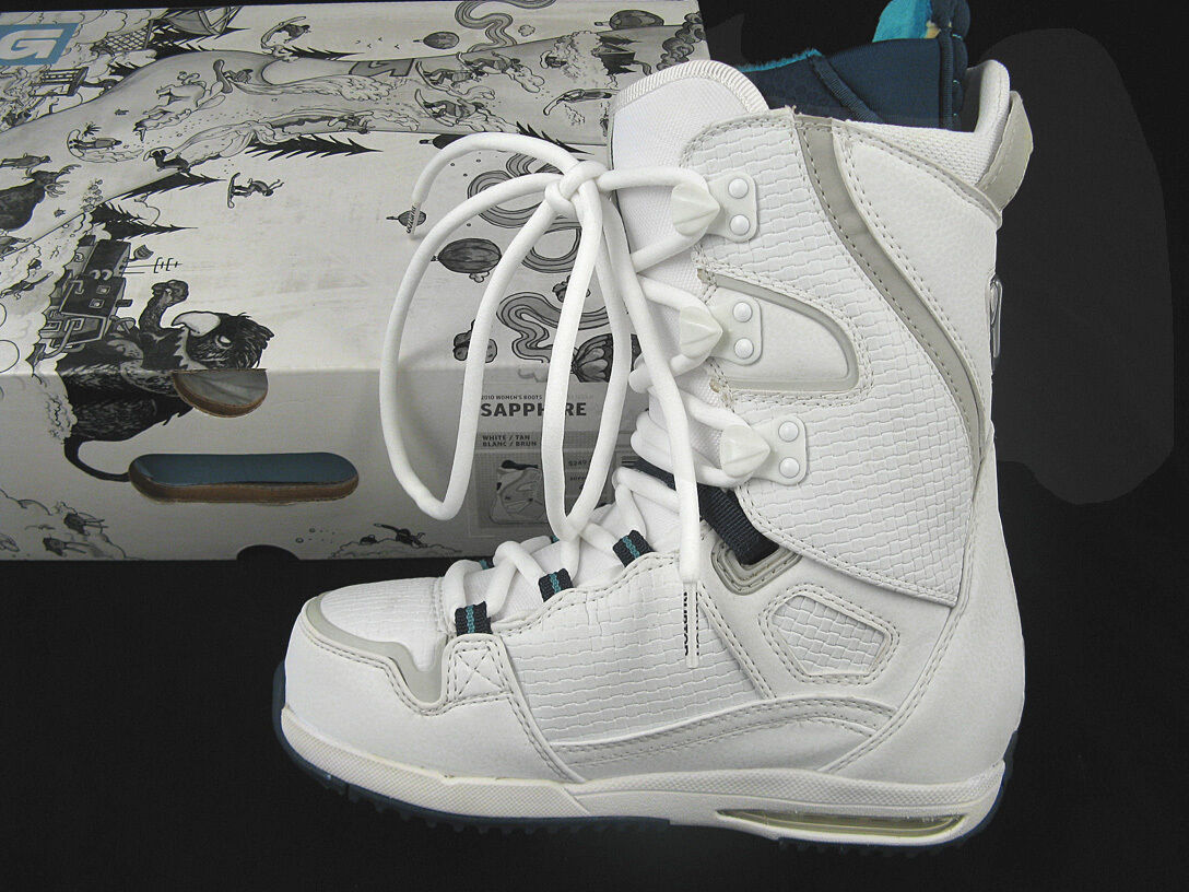 NEW Burton Sapphire Snowboard Boots   US 6, Euro 36.5, Mondo 23   WHITE