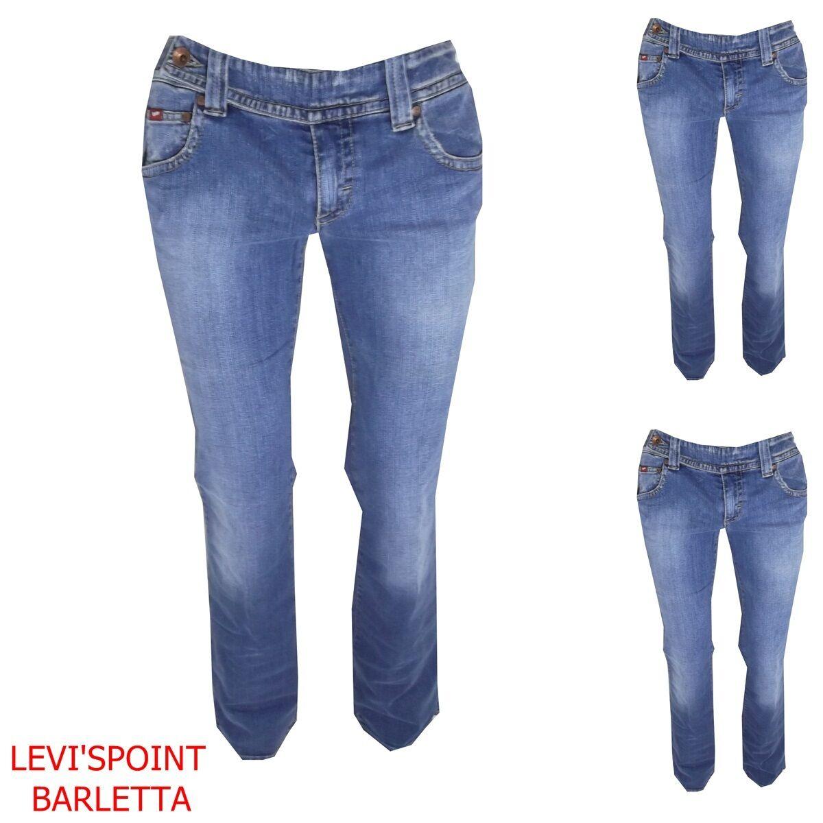 Jeans gas donna kody belt a zampa d'elefante a campana stretch taglia W31 W32