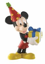 Mickey Mouse Celebration Figurine - Disney Bullyland Toy Figure Cake Topper