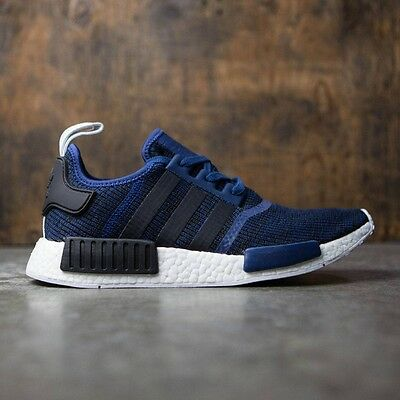 93811c92ea010 Adidas NMD R1 Mystery Blue Nomad Collegiate Navy New Men Size 7.5-13 (BY2775
