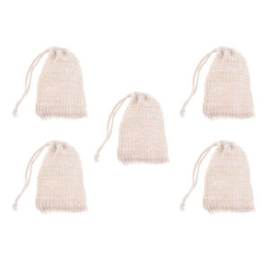 Bathroom Fixtures 6 Pcs Natural Exfoliating Soap Bags Handmade Sisal Soap Bags Natural Sisal Soap Saver Pouch Holder Bath Soap Holder Bags Home Improvement