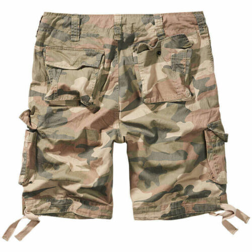 Shorts Brandit 2012 Urban Legend Army Style Vintage Summer Patrol Light Woodland