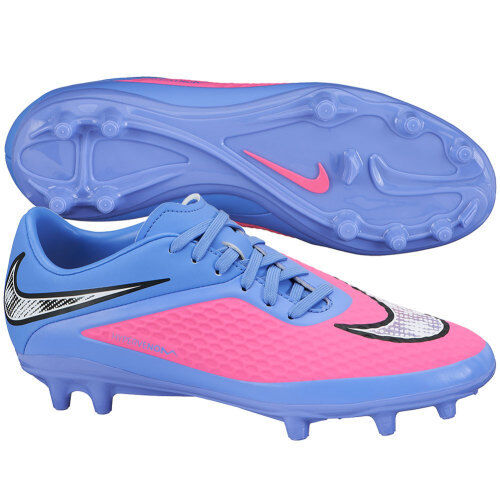 0472b8bfc Nike Blue Lagoon/volt Hypervenom Phelon II FG Soccer Cleats Shoe Womens 8  39 for sale online | eBay