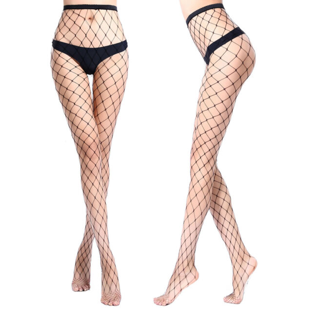 a059fb6588b Women Ladies Fishnet Tights Stockings Pattern Burlesque Hoise ...