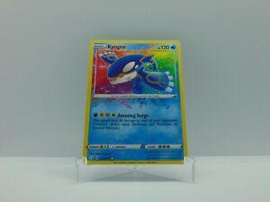 Pokemon TCG Shining Fates Kyogre Amazing Rare 21/72 Mint/NM Pack Fresh