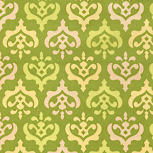Heather Bailey PWHB066 Ginger Snap Coat Check Pink Fabric By The Yard