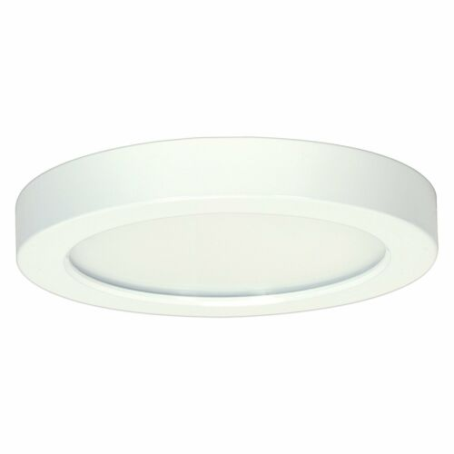 Satco 13.5W 3000K Round Flush Mount LED Fixture 7 in.