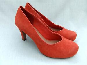 de 37 Chorus tamaño para Clarks mujer ante Voice zapatos naranja Nuevo 4 U1q4fYcHPc