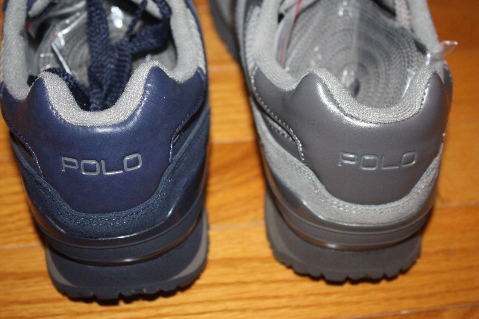 Nuevo Tech en caja Polo Sport Ralph Lauren Slaton Tech Nuevo Zapatillas Pony Gamuza envío Gratis EE. UU. c8f470