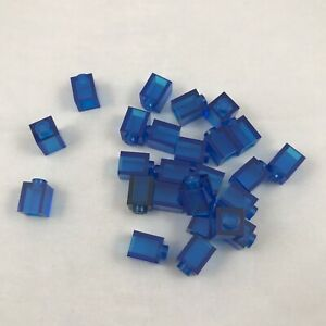 30x Lego Brick 1 x 1 in Blue part no 3005