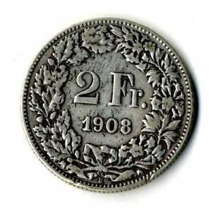 Moneda-Suiza-1908-B-2-francos-suizos-plata-835-silver-coin-Helvetia