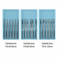 New Listinghot Dental Fgxl 468 Surgical Tungsten Carbide Burs High Speed 25mm 16mm Round