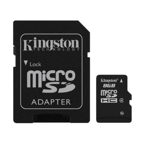 with SD Card Adapter 64GB Class 10 Kingston Micro SD SDHC Memory Card Class 4,