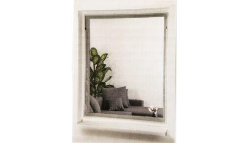 Protection insectes plissé Moustiquaire Variable Magnétique Cadre 130x150cm fenêtre i1