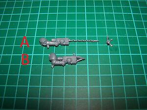 Space Marine Primaris Reiver Grapnel Launcher (bits)